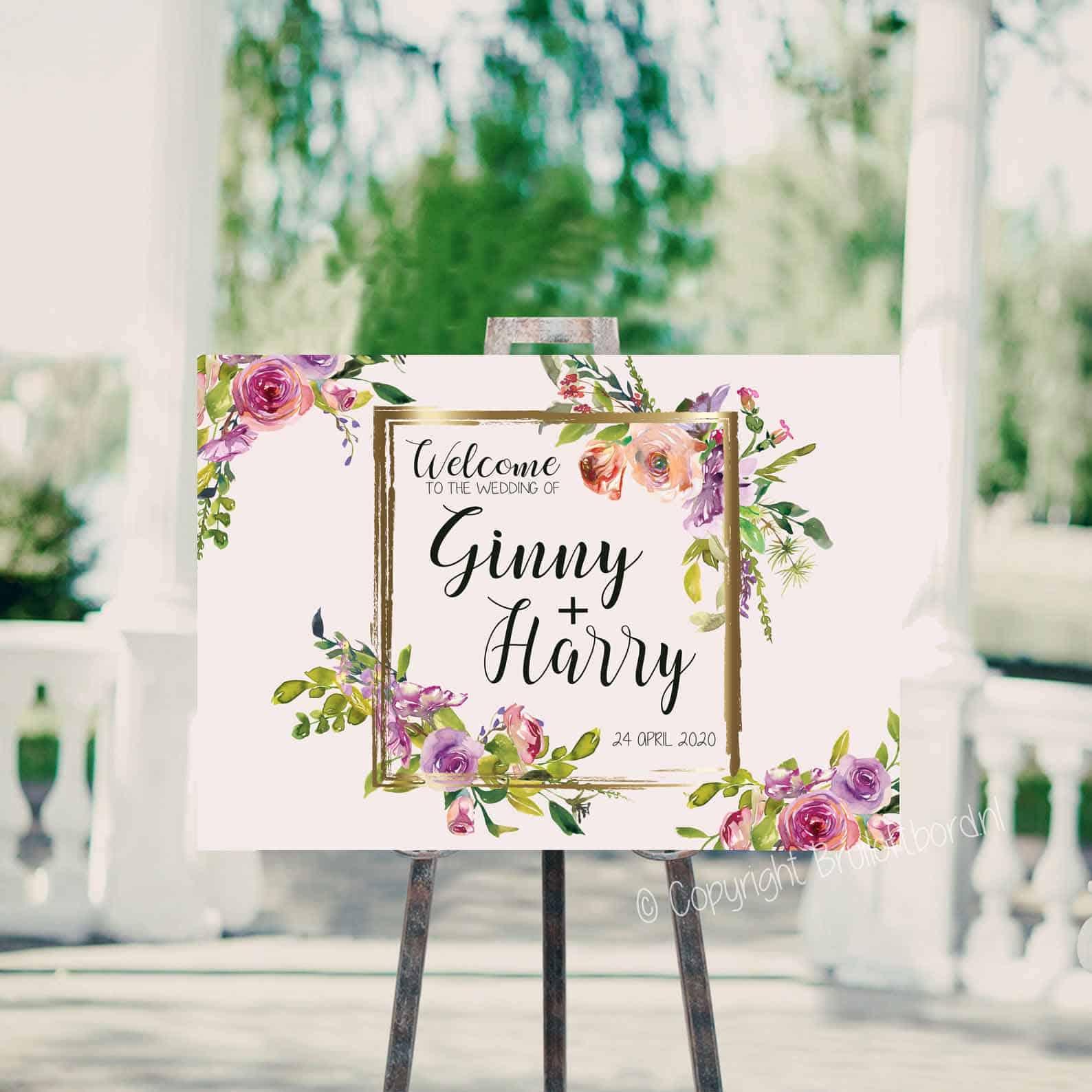 welkomsttekst bruiloft